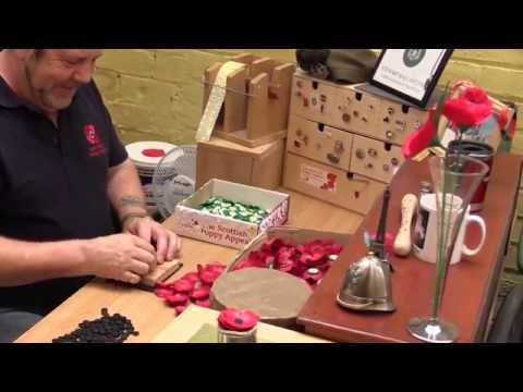 The Lady Haig poppy factory, Edinburgh - youtube