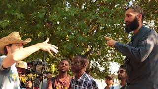 Video: Charles Darwin's 'Natural Selection' Theory proves Chimps evolved into Black Men good at climbing trees? - Suboor Ahmad vs Jamie