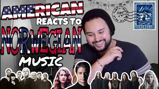 American REACTS // Norwegian Music