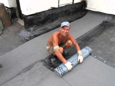 Как покрыть крышу технониколем своими руками