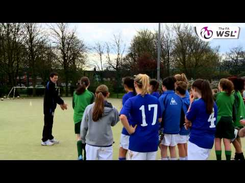 Launch day for the Everton Women's Super League team with Tim Howard