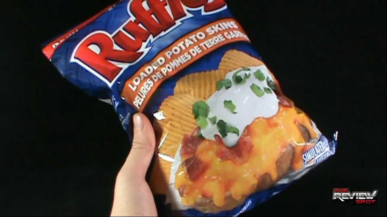 Loaded Potato Skins Chips Loaded Potato Skins Potato