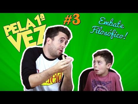 PELA 1ª VEZ #3 - Criança comentando Depoimento de Lula, Socialismo, e mais) Vídeos de zueiras e brincadeiras: zuera, video clips, brincadeiras, pegadinhas, lançamentos, vídeos, sustos