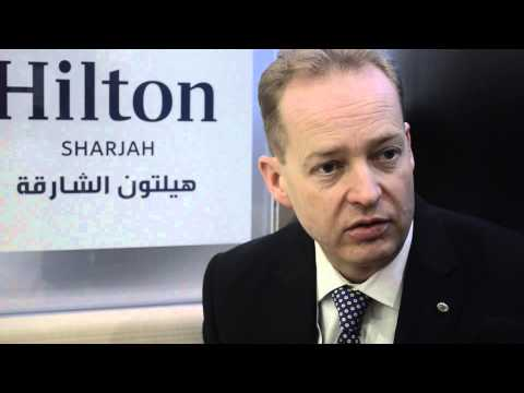 Richard Gosling, general manager, Hilton Sharjah
