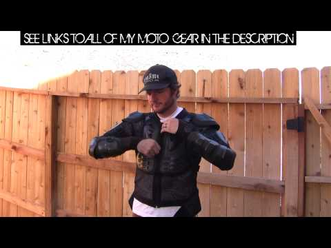 Fox Titan Motorcycle Armor $40 CLONE 1 Year Review! DCAM o#o
