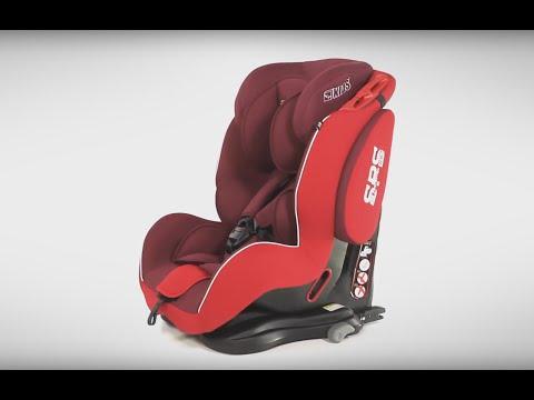 LCP Kids Saturn IFix Isofix Auto Kindersitz 9 Bis 36 Kg