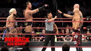 Enzo Amore & Big Cass vs. Luke Gallows & Karl Anderson: WWE Payback 2017 Kickoff