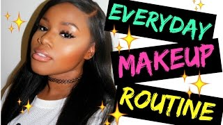 GRWM Everyday Makeup Routine: Simple and Affordable (2016)