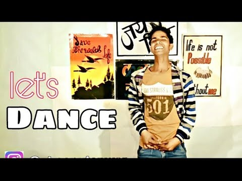 Let's dance | Dance in many songs | Funny dance by Sonu Tanwar