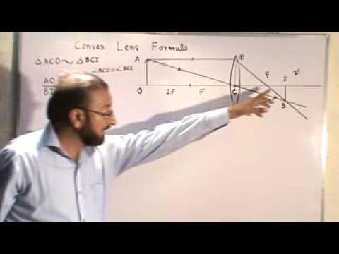 lens maker formula derivation pdf