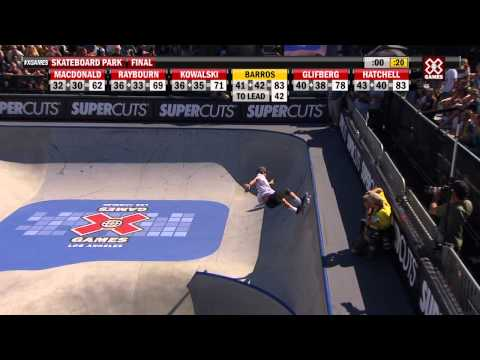 X Games Los Angeles 2012: Pedro Barros On Top