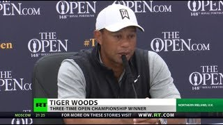 Tiger Woods 'not quite as sharp' ahead of major
