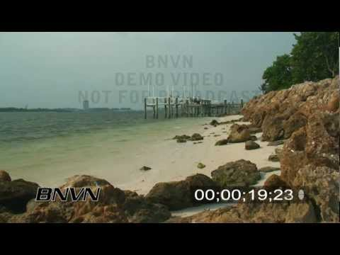 8/9/2007 North Siesta Key, FL - B-Roll Video