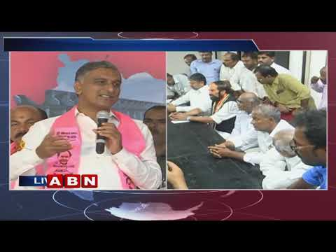 Minister Harish Rao Speech | Zaheerabad Congress and BJP leaders joins TRS | ABN Telugu