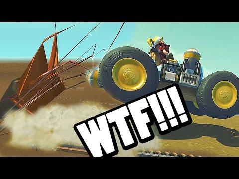 SCRAP MECHANIC #10 - Máquinas RANDOM, risas random, fails random | Gameplay Español