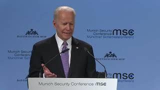 #MSC2019: Joe Biden tells Europeans that America is 'an embarrassment' (Munich Security Conference)
