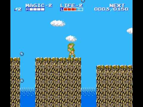 Zelda II - The Adventure of Link - Zelda II - The Adventure of Link Part 2: Grinding Part 2 and 1st Dungeon Attempt - User video