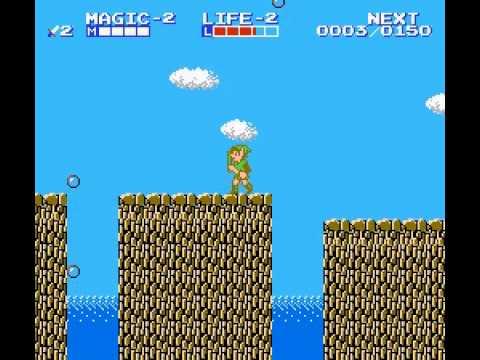 Zelda II - The Adventure of Link - Zelda II - The Adventure of Link Part 2: Grinding Part 2 and 1st Dungeon Attempt - User video