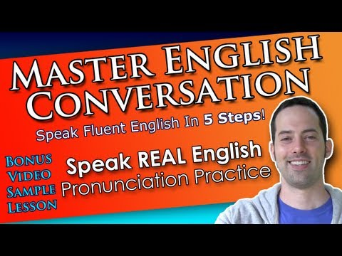 How to sound like native English speakers! – Speak REAL English lesson PREVIEW!