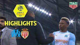 Olympique de Marseille - AS Monaco ( 1-1 ) - Highlights - (OM - ASM) / 2018-19