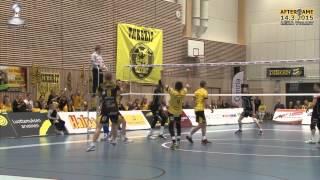 Aftergame Playoff 1. Tiikerit - LEKA Volley la 14.3.2015 Tommi Tiilikainen