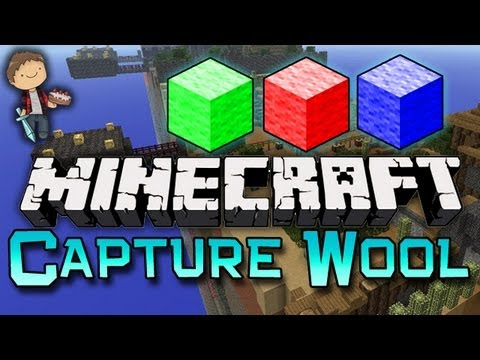 Minecraft: Capture The Wool Mini-Game w/Mitch & Friends! Game 2 of 3!