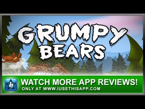 Grumpy Bears iPhone App by Fluik Games - Video App Reviews