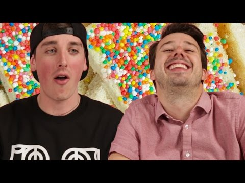 Stoned Americans Try Fairy Bread