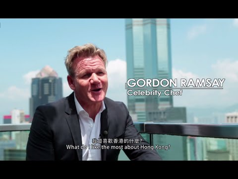 Gordon Ramsay in Hong Kong