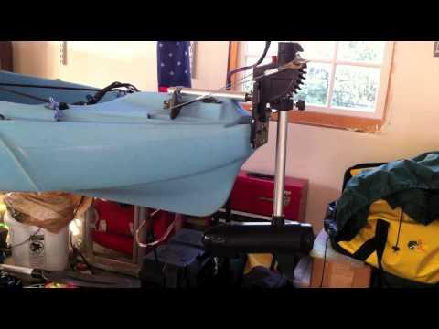 Kayak Trolling Motor Youtube