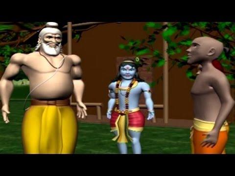 Krishna Sudama   Animated Movie For Kids In Hindi video