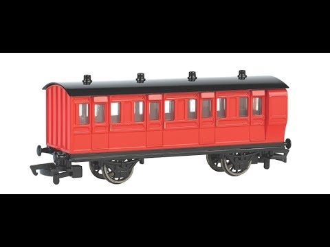 Bachmann Red Coaches Unboxing and Test Run