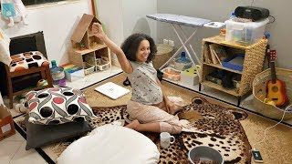 MINIMALIST/ MONTESSORI Inspired Playroom Tour (10+ DIY Activities for Babies & Toddlers)