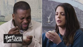 Spice Adams and Katie Nolan try to guess artisanal ice cream flavors | Always Late with Katie Nolan