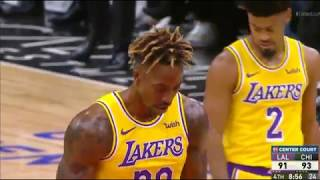 Los Angeles Lakers vs Chicago Bulls NBA SEASON '19-'20 NoV 5 2019 4th Quarter Recap (MISSED & MADE)