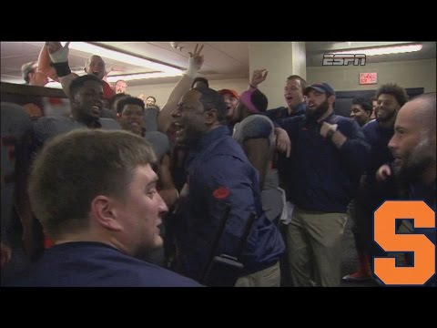 Dino Babers' Locker Room Speech After Syracuse Upset Virginia Tech