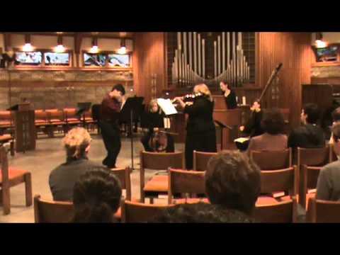 Vitali Trio Sonata in D Major, Op 1 No 1 III Grave