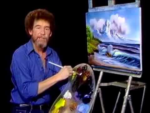 Bob Ross Malerei Berg Am Meer Malerei Video Youtube