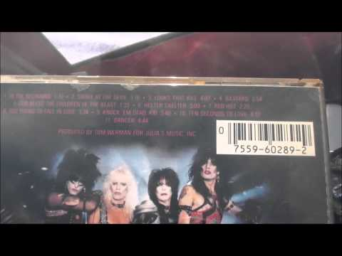 Motley Crue Shout At The Devil 1983 Target CD West Germay