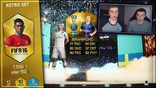 FIFA 16: RETRO Pack Opening mit INFORM & WALKOUT!🕓😱