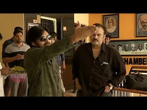 VIDEO : పవన్ నిరసన ..Pawan Kalyan At Film Chamber Against  Media..RGV..Sri Reddy..Alluarjun