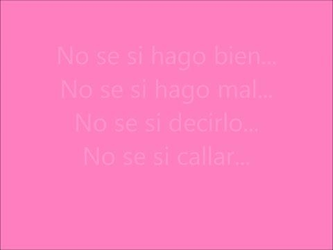 Violetta - Te Creo (Letra) - Canción Completa
