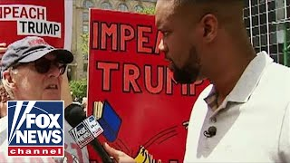 Jones goes inside an 'Impeach Trump' rally in NYC