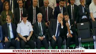 Nasreddin Hoca Kültür Sanat Festivali Festivali Açılış Töreni
