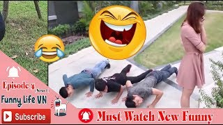 Must Watch New Funny😂 😂 The Funniest Scenes Of 2019 - Funy Life