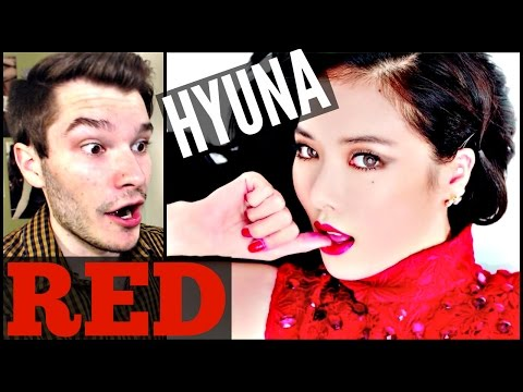 Hyuna red (빨개요) Reaction | Awkward Kpop video