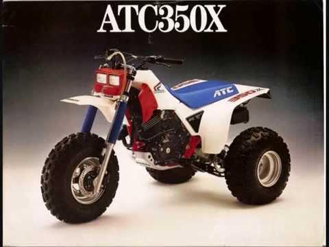 history of the honda 3 wheeler atc