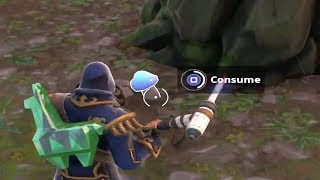 gain shields from mushrooms fortnite week 5 season 8 challenge - all mushrooms fortnite