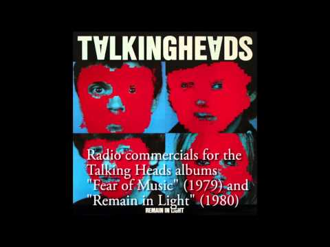 Talking Heads - Radio Commercials For fear Of Music And remain In Light video