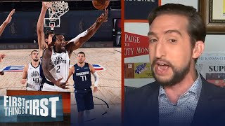 Nick Wright on Mavs & Clippers in first round, Clippers to win in 6 or 7 | NBA | FIRST THINGS FIRST